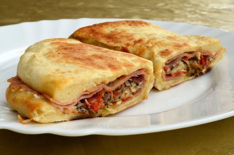 Обильный сандвич  стоковая фотография