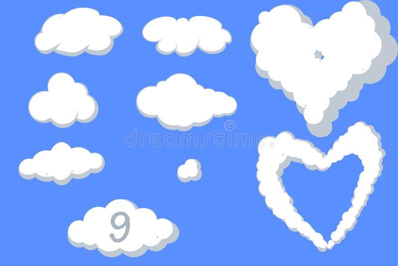 облака ассортимента бесплатная иллюстрация