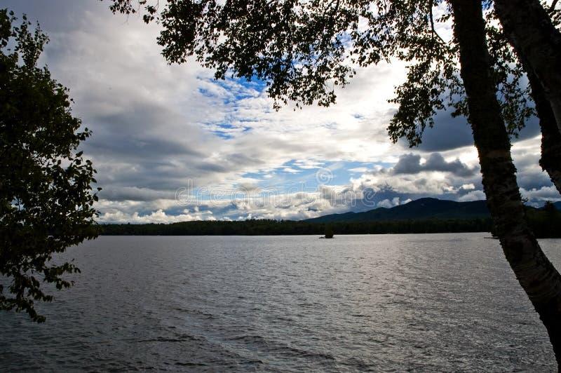 облака выравнивая серебр стоковое изображение
