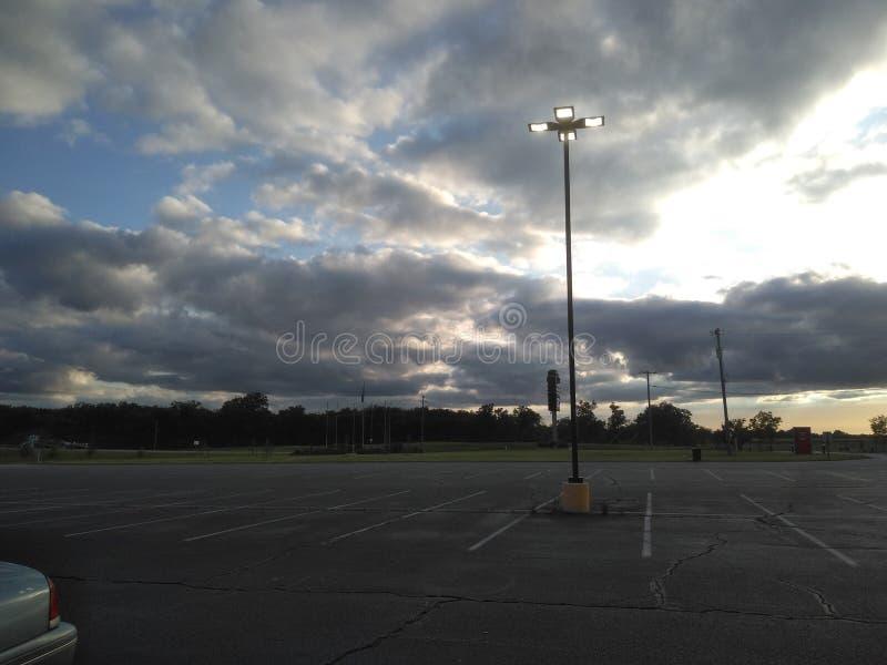 Облака и небеса стоковые фотографии rf
