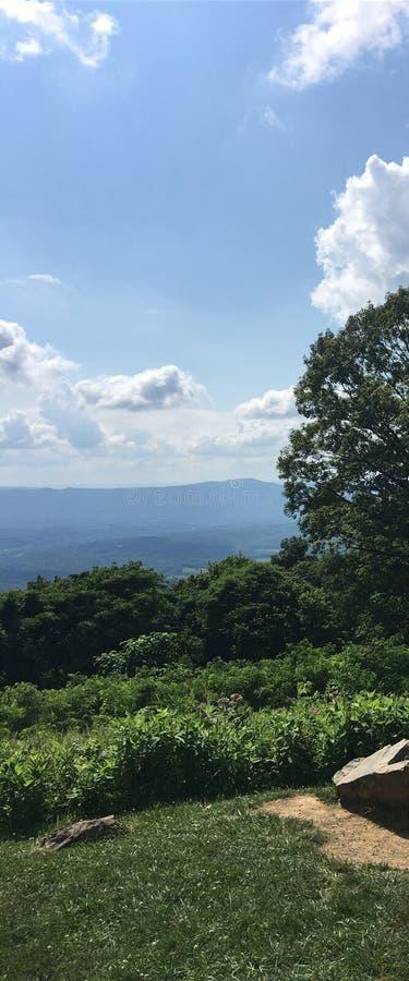Облака от привода горизонта стоковая фотография