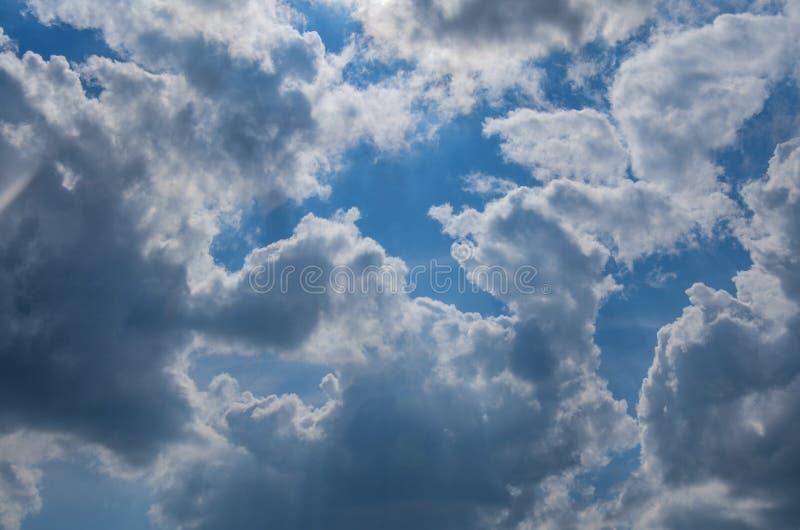Облака шторма стоковые фото