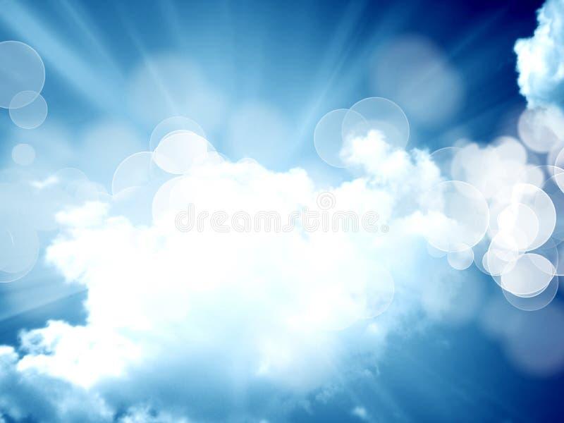 Облака иллюстрация вектора