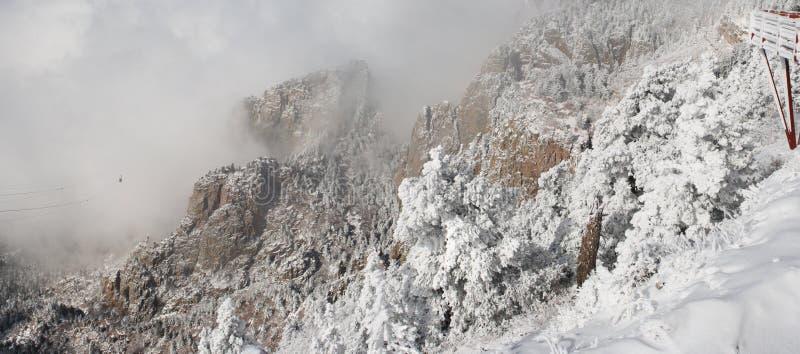 облака 5 излишек sandias панорамы стоковое фото