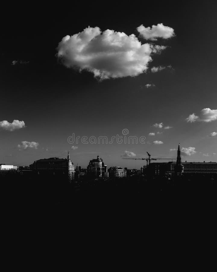 Облако надежды стоковая фотография rf