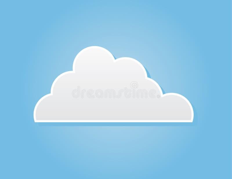 Облако одно бесплатная иллюстрация