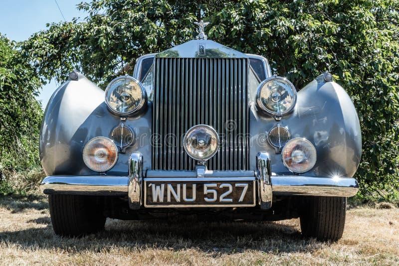 Облако 1954 серебра Rolls Royce стоковое изображение