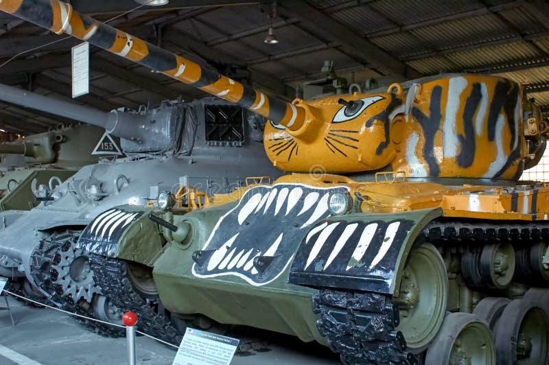 ОБЛАСТЬ МОСКВЫ, РОССИЯ - 30-ОЕ ИЮЛЯ 2006: M46 генерал Patton в стоковое фото rf