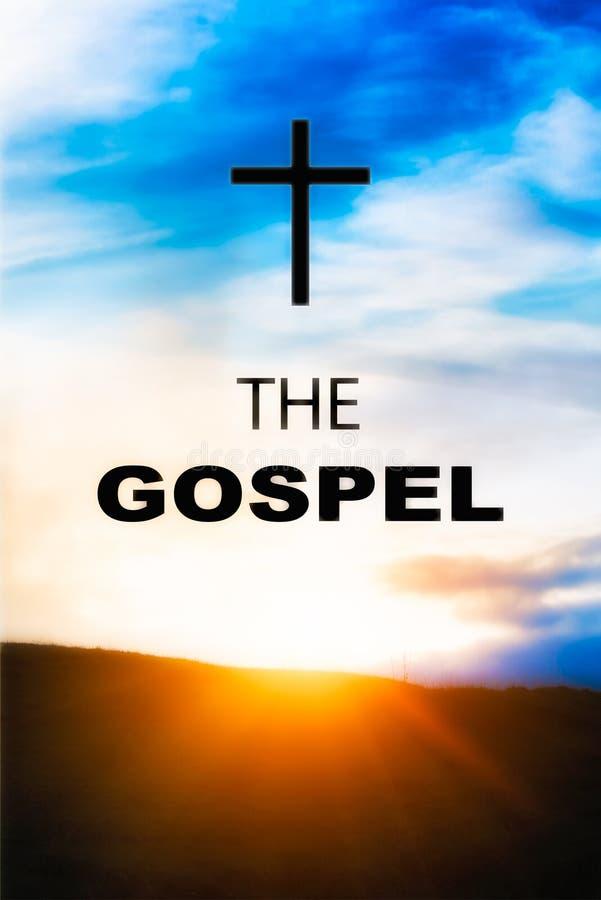Обложка книги Евангелия стоковые фото