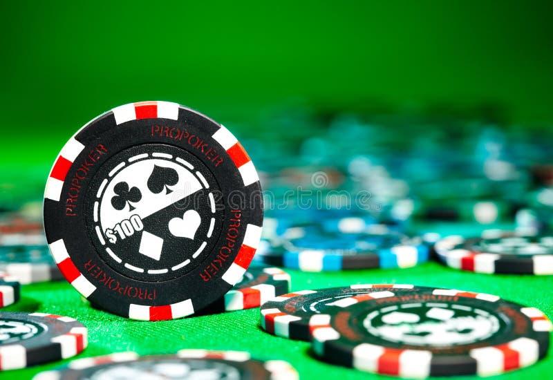 обломоки играя в азартные игры стоковая фотография