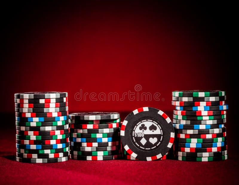 обломоки играя в азартные игры стоковые фото