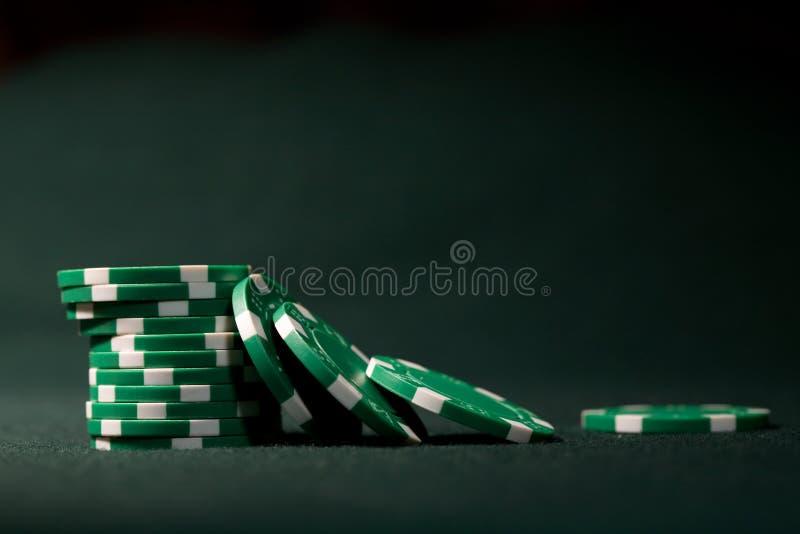 обломоки играя в азартные игры стоковое фото