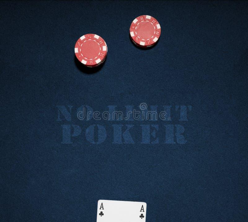 обломоки казино карточки туза стоковые фото