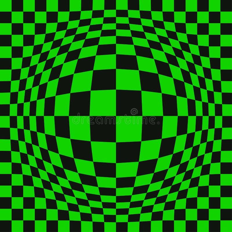 Обман зрения вектора иллюстрация вектора