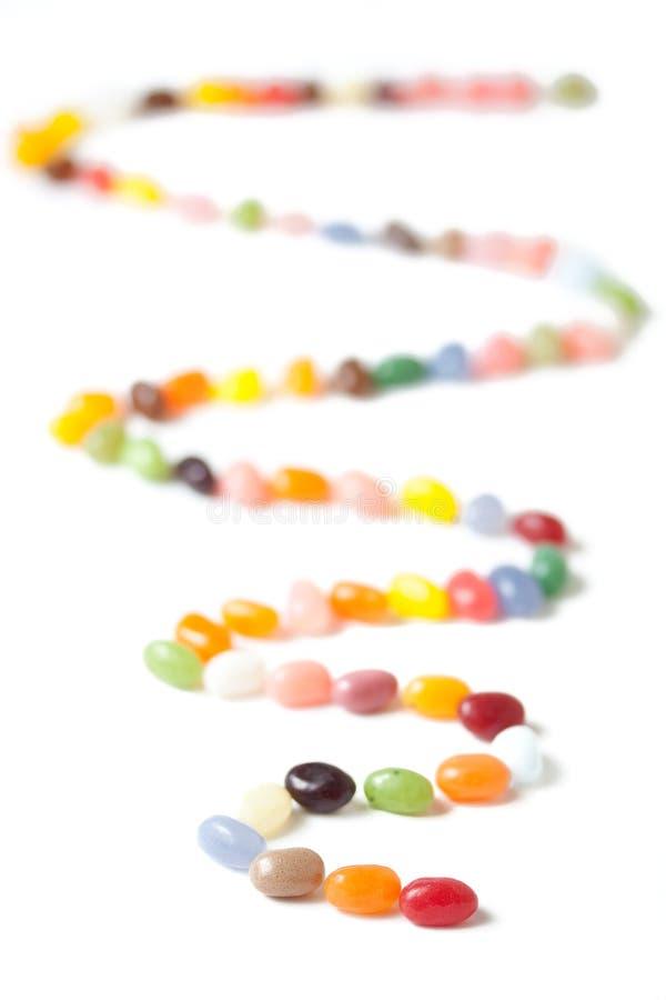 обматывать jellybeans стоковое фото rf