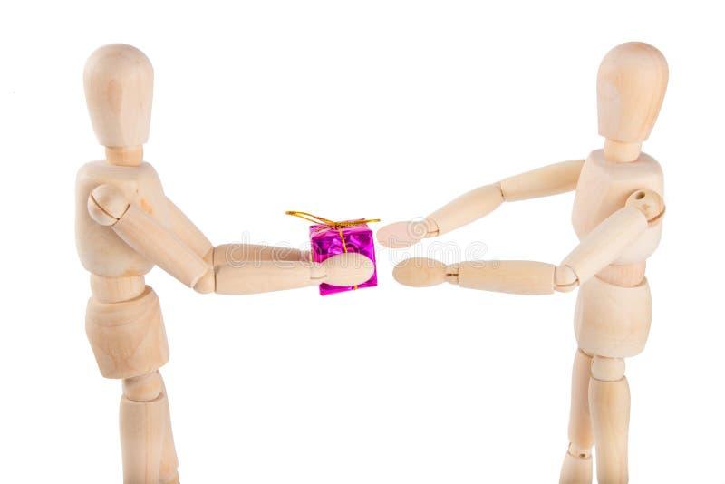 обменивать подарки стоковая фотография rf