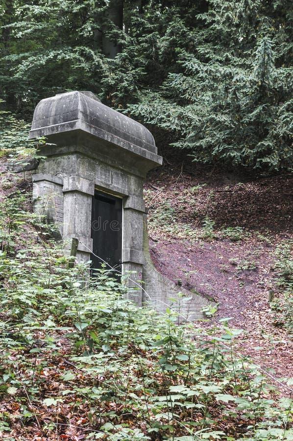 Обмылок бункера от Вторая мировой войны стоковое фото rf