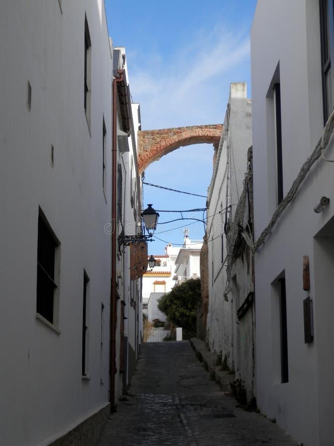 Обмылок старого городища городка в Тарифе стоковые фотографии rf