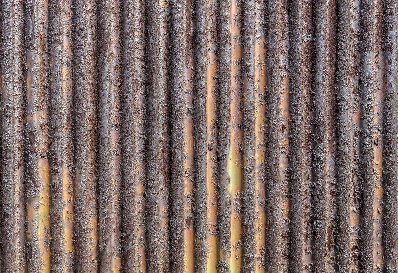 Обнажанный металл текстурирует тяжело гофрированный стоковые изображения