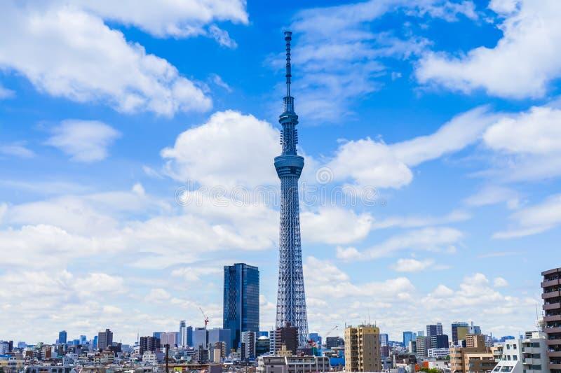 634 обнаружили местонахождение палату tv вала башни токио sumida неба метров стоковое фото rf