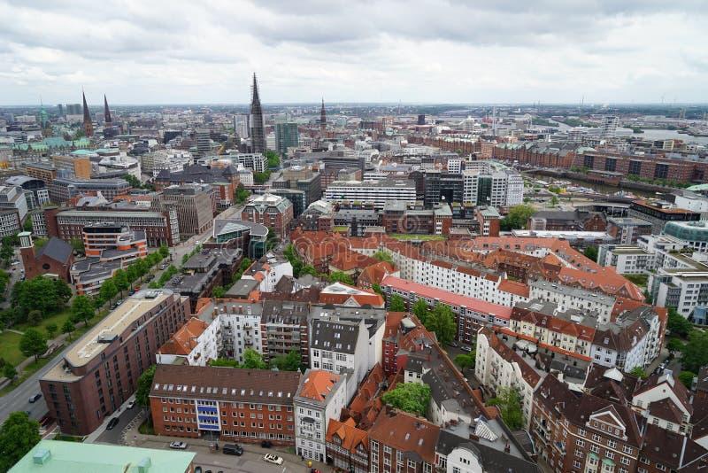 Обозите Гамбурга стоковое фото rf