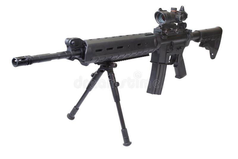 Обозначенная винтовка marksmans стоковое фото rf