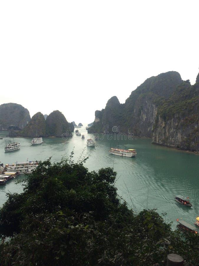 Обоз туристического судна стоковое фото rf