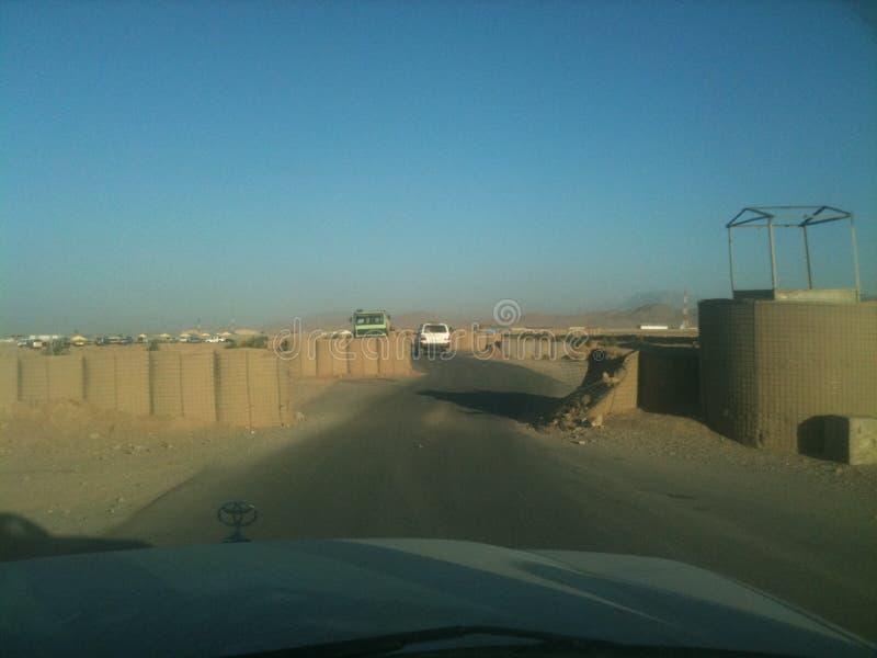 Обоз через Афганистан стоковые изображения rf