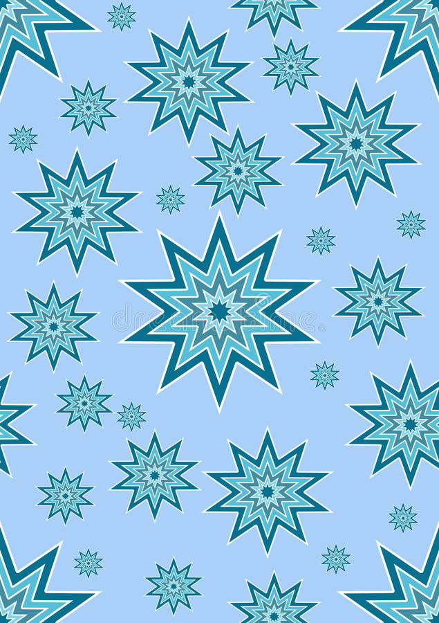 обои голубой звезды иллюстрация штока