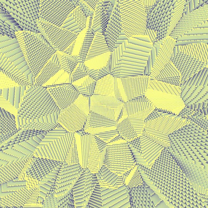 Обои глубины пиксела бесплатная иллюстрация