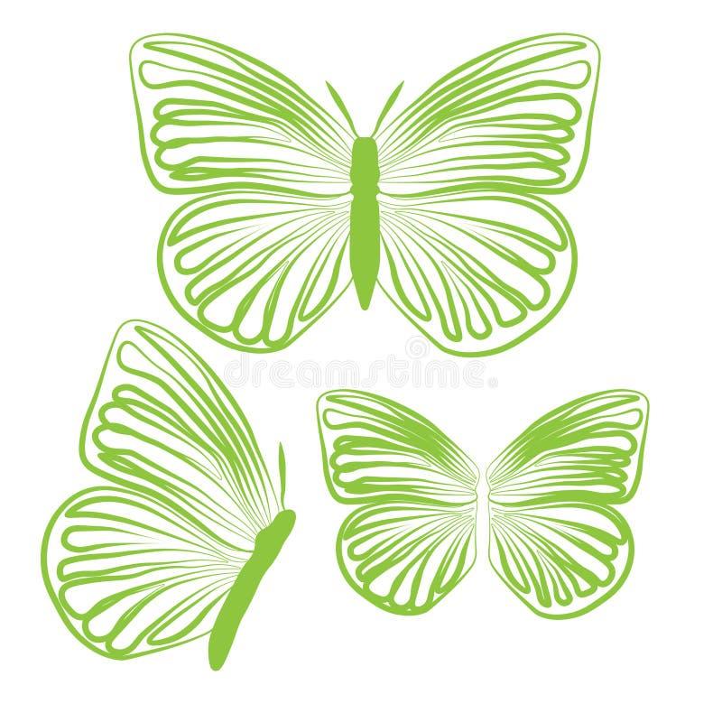 Обои конспекта дизайна иллюстрации вектора предпосылки картины ткани плитки крышки бабочки иллюстрация вектора