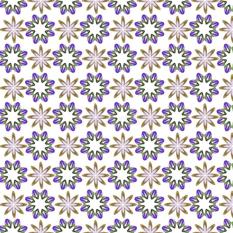 Обои конспекта дизайна иллюстрации вектора предпосылки картины ткани плитки крышки цветка флористические иллюстрация штока