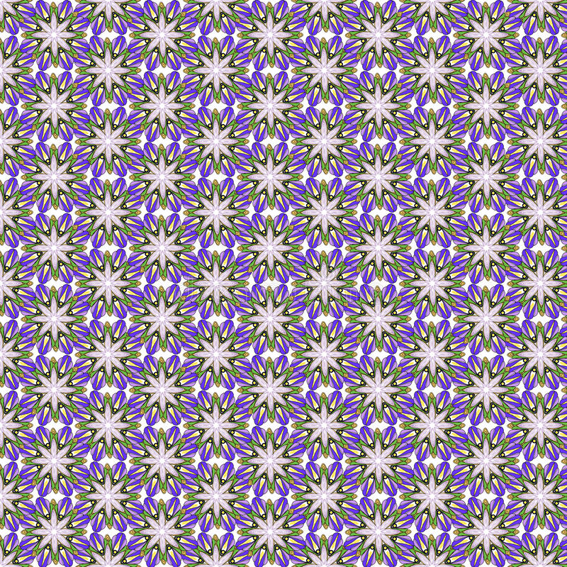 Обои конспекта дизайна иллюстрации вектора предпосылки картины ткани плитки крышки цветка флористические иллюстрация вектора