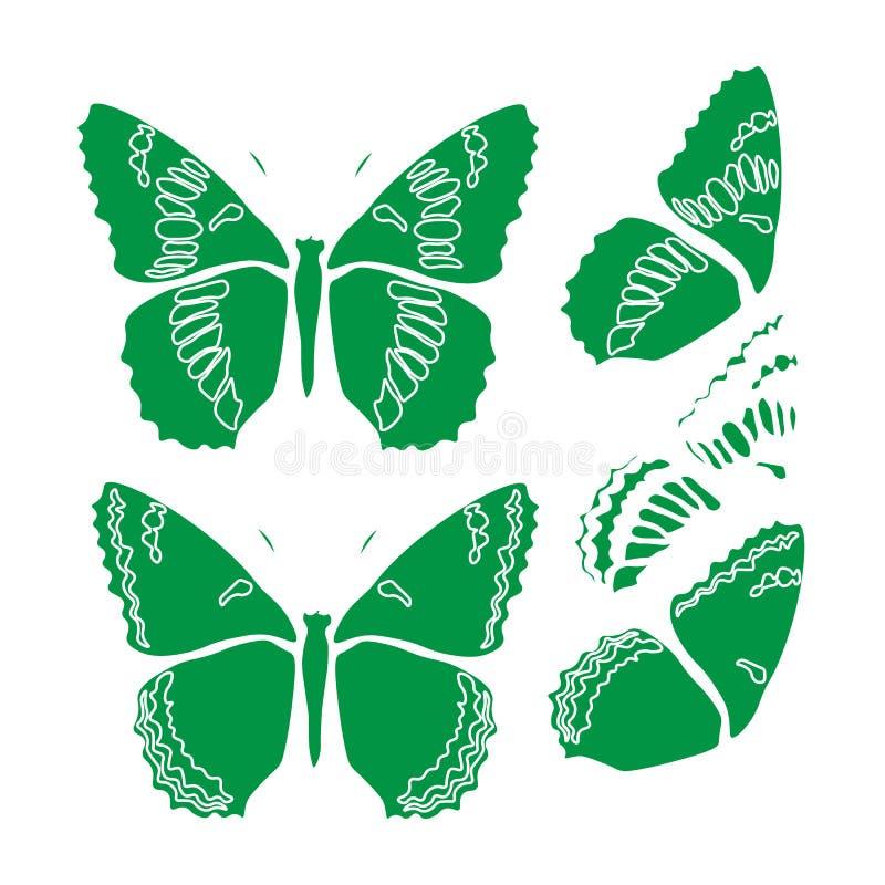 Обои конспекта дизайна иллюстрации предпосылки картины ткани плитки крышки бабочки иллюстрация штока