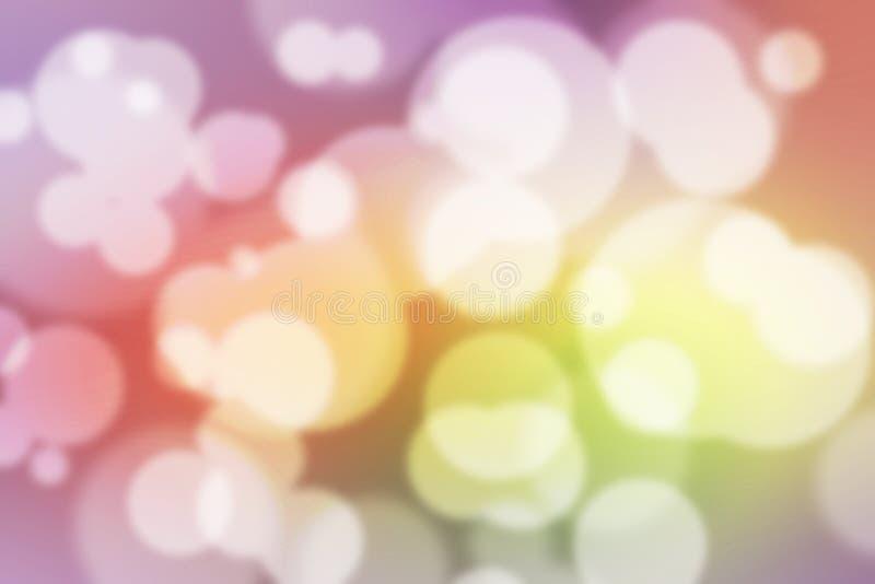 Обои красочной предпосылки Bokeh красочные запачканные стоковая фотография