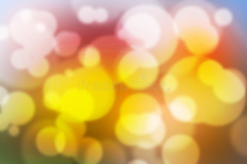 Обои красочной предпосылки Bokeh красочные запачканные стоковое изображение rf