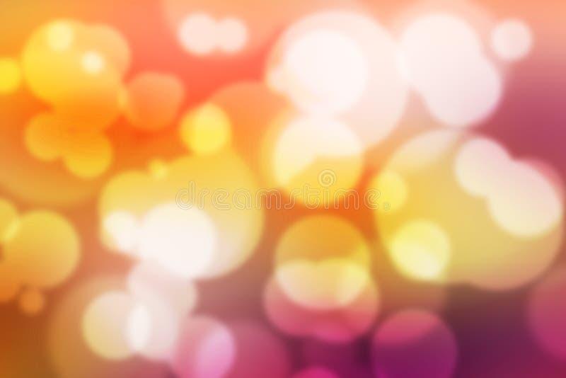 Обои красочной предпосылки Bokeh красочные запачканные стоковые фото