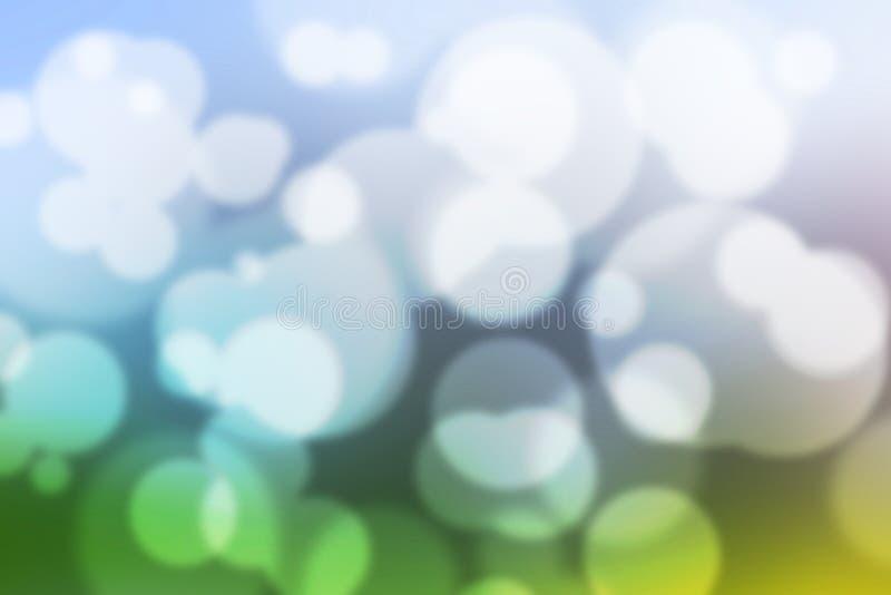 Обои красочной предпосылки Bokeh красочные запачканные стоковое изображение