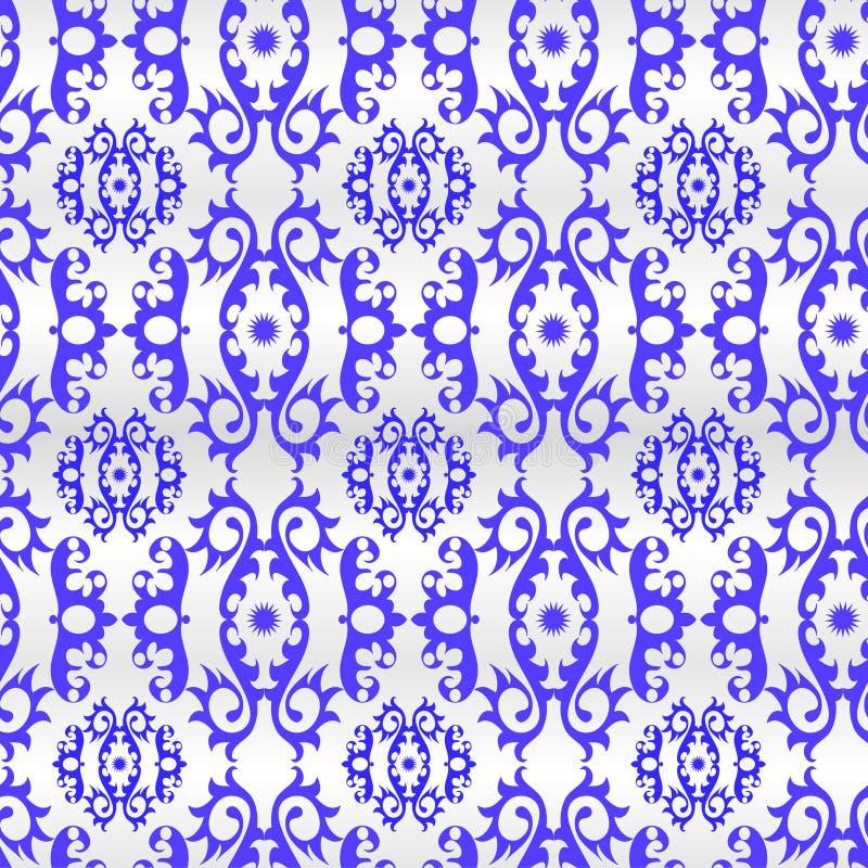 обои орнамента безшовные иллюстрация вектора