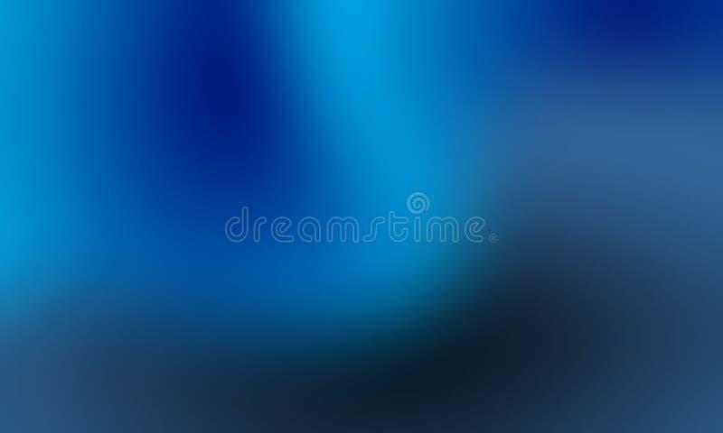 Обои предпосылки нерезкости голубых и белых пастельных цветов абстрактные, иллюстрация вектора иллюстрация вектора