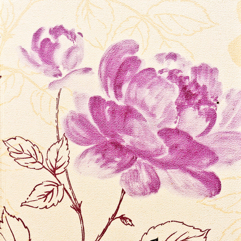 Обои пурпура розы конспекта стоковые изображения