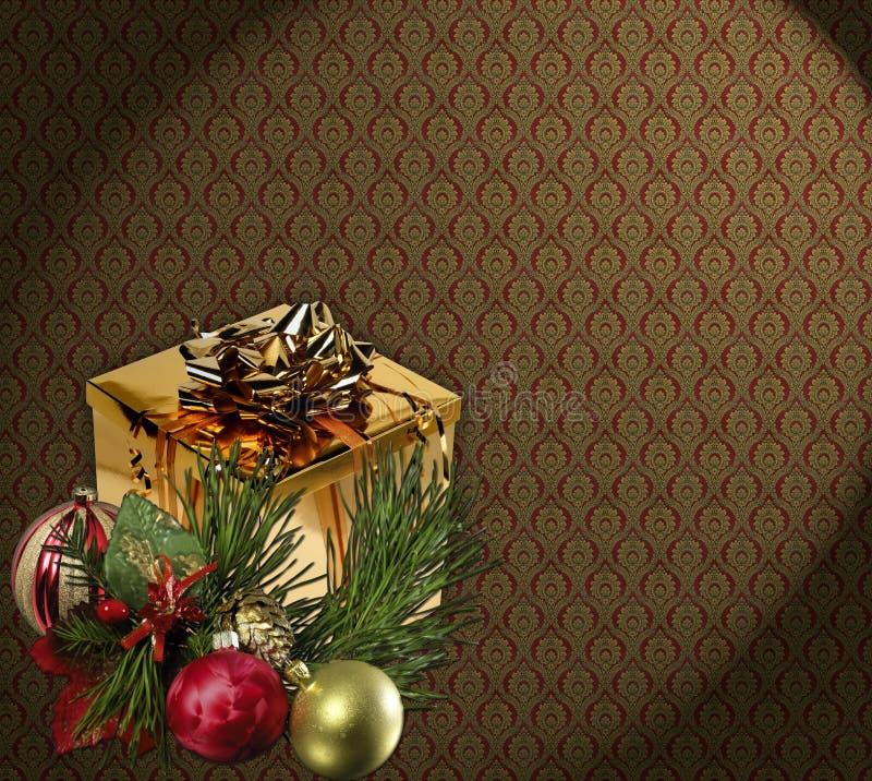 обои рождества иллюстрация вектора