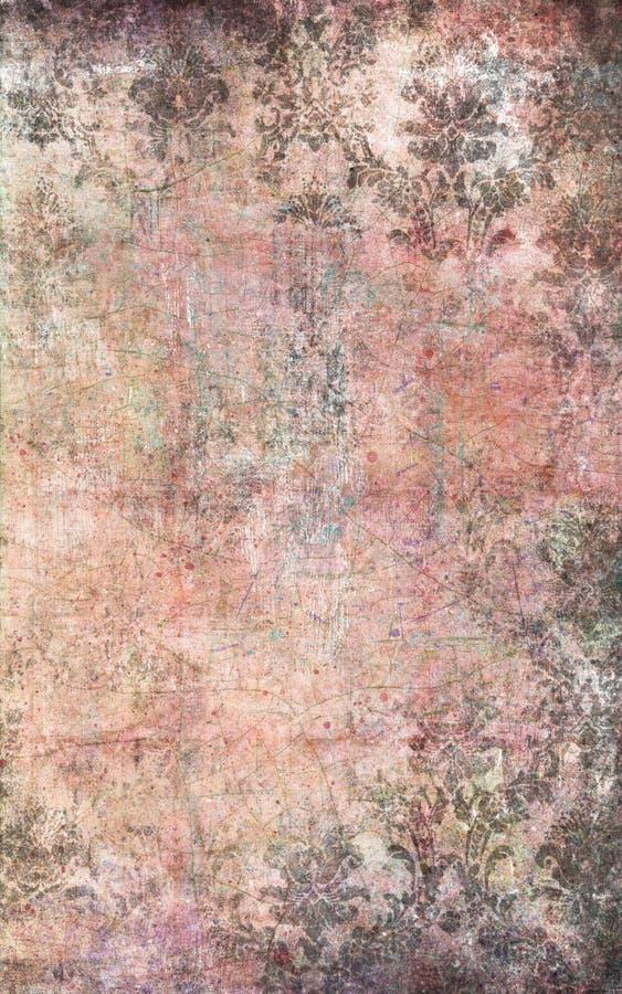 обои сбора винограда текстуры стоковые изображения rf
