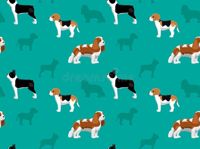 Обои 2 собаки иллюстрация штока