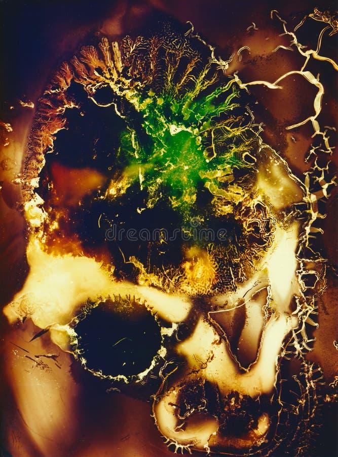 Обои текстуры дизайна фрактали стоковая фотография