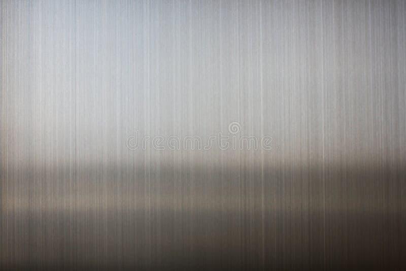 Обои текстуры конца-вверх алюминиевые металлические, металлическая предпосылка стоковая фотография rf