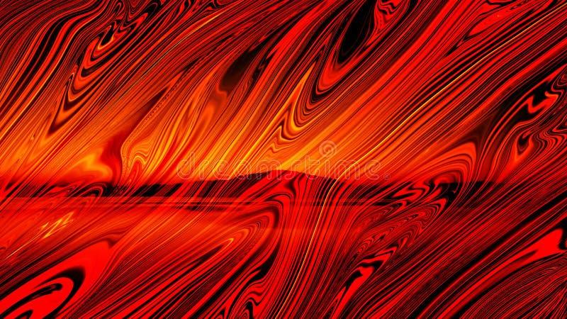 Обои текстуры сердцевинных лучей ландшафта двойной экспозиции sunmica столешницы деревянные иллюстрация вектора