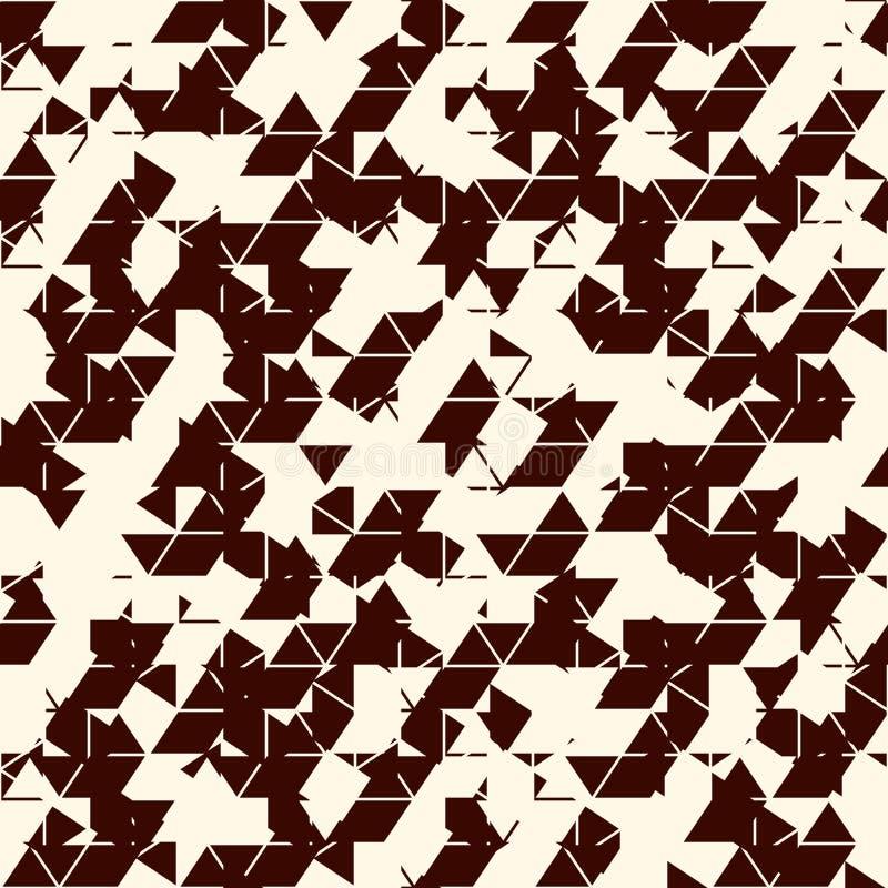 Обои Grunge абстрактные Текстура небольшого затруднения Безшовная поверхностная картина с сломленными формами Огорченные геометри иллюстрация штока