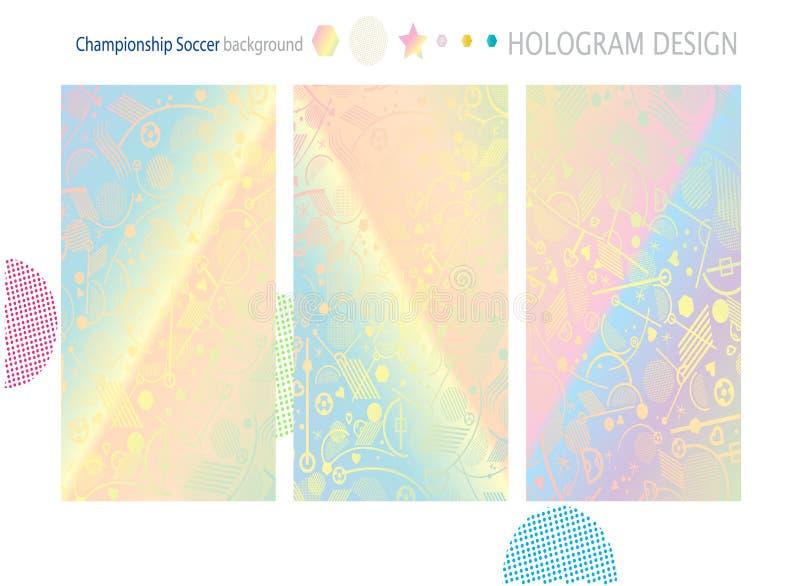 Обои Hologram иллюстрация вектора
