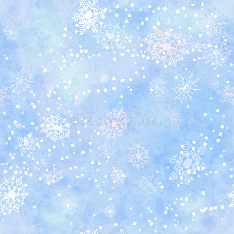 Оборачивать картину винтажной бумажной снежинки безшовную иллюстрация штока